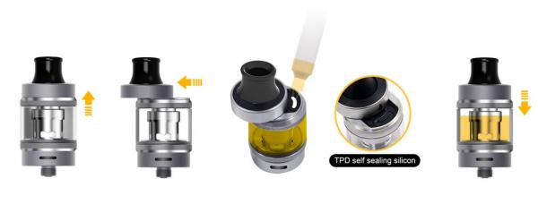aspire Tigon MTL Clearomizer